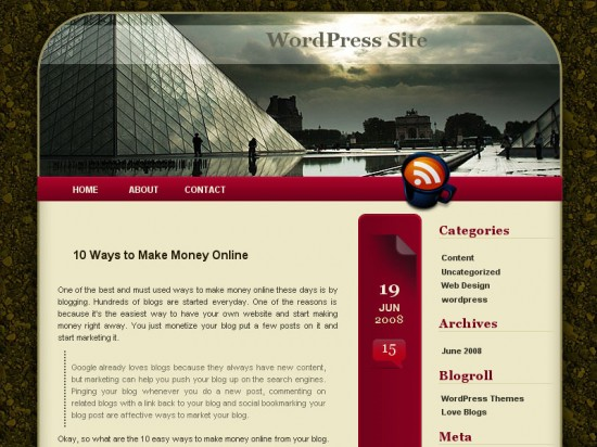 Metist ? Slim, Calm and Dark WP theme