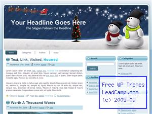 Download snowman themes and templates snowman xmas winter free wordpress template themes spiritdancerdesigns Gallery