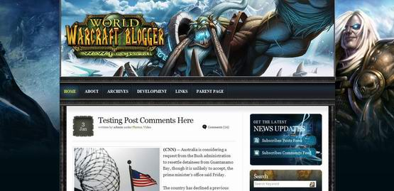 WoWar ? Free Wordpress Theme