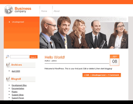 Download css themes and templates wp business company friedricerecipe Gallery