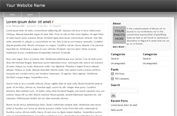 Freedom Black Widgetized Free WordPress Theme