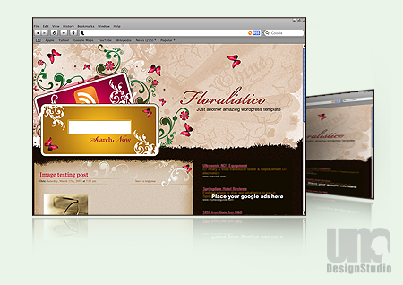 Fleeting love Free Wordpress Theme