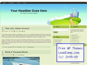 Time For School Free WordPress Template / Themes