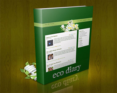 EcoDiary wordpress theme