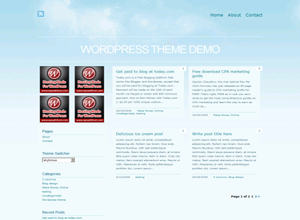 Skylicious ? Free WordPress Theme