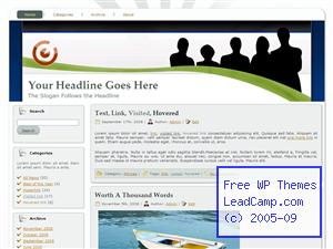 Ready For Action Free WordPress Template / Themes
