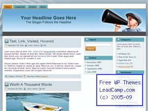 Director Shout Out Free WordPress Template / Themes