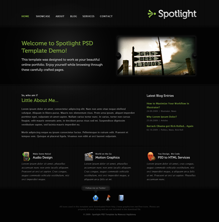 ThemeForest ? Spotlight