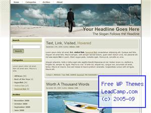 Business Travels Everywhere Free WordPress Template / Themes