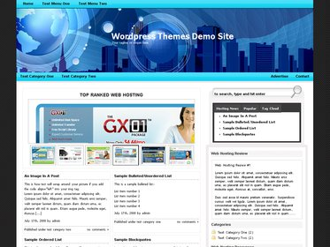 Web Hosting Template 7
