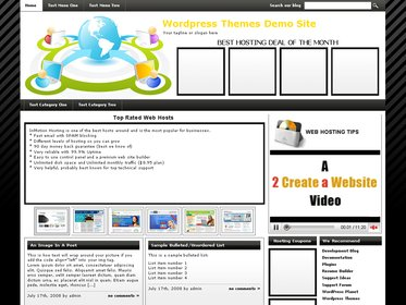 Web Hosting Template 8