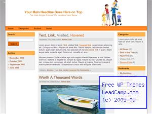 Family Of Five Free WordPress Themes / Templates
