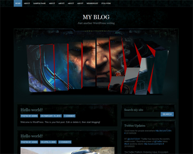 download flash slider themes and templates