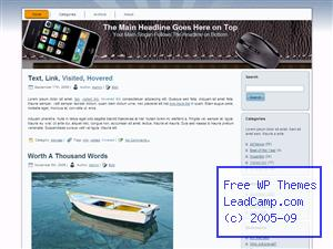 Iphone Computer Connect Free WordPress Templates / Themes