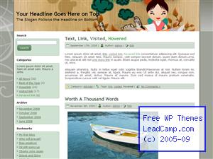 Woman At Laptop Work Free WordPress Templates / Themes
