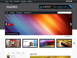 Visualpress WordPress Theme