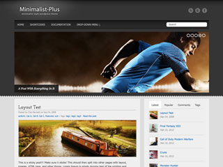 Minimalist-Plus WordPress Theme